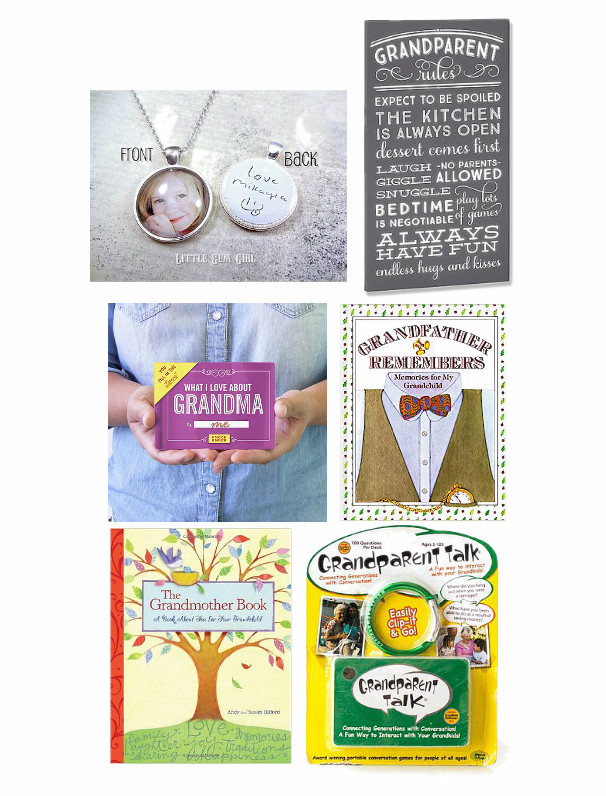 Grandparent and Parent Christmas Gift Guide