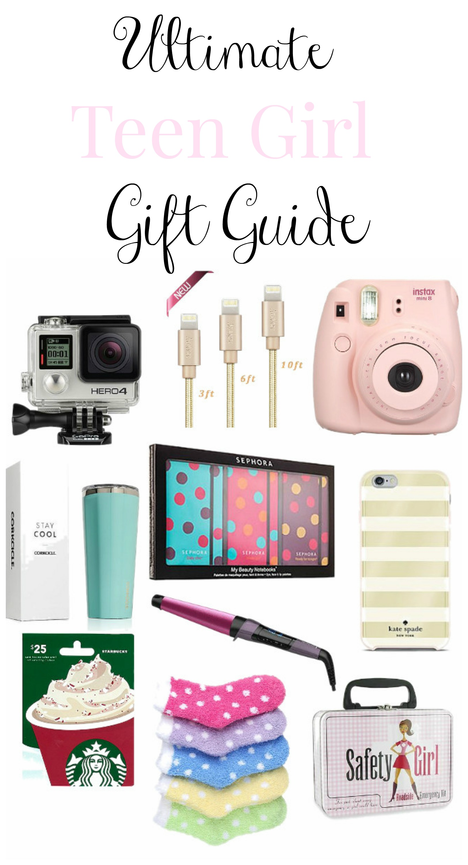 Teen Girl Christmas Gift Guide - Re-Fabbed