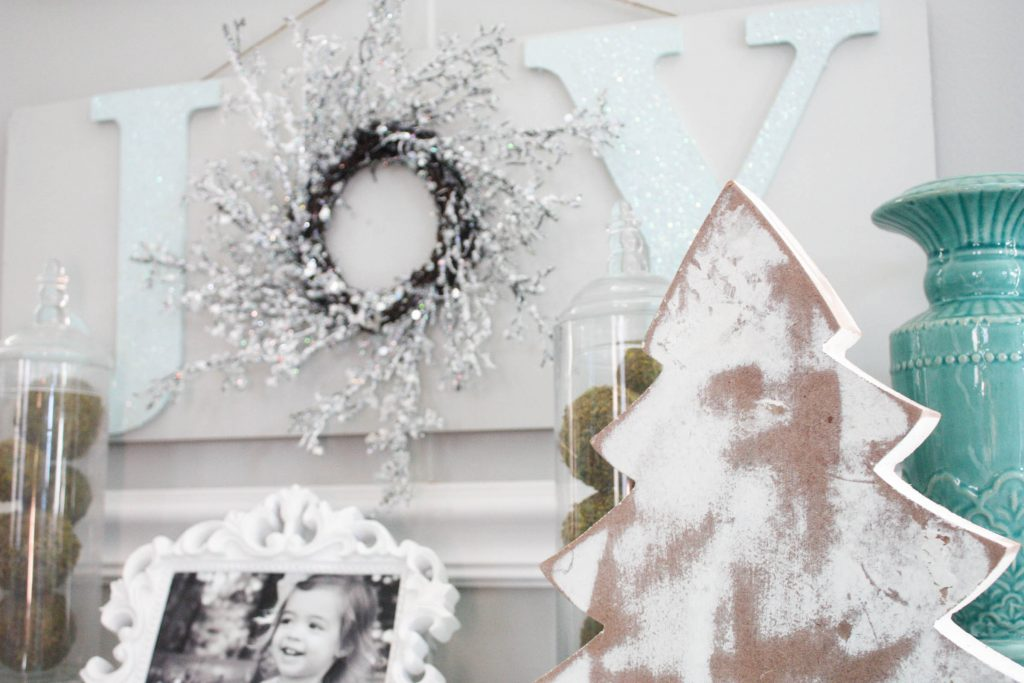 This super simple diy JOY sign is a great project that looks like it came off the store shelves! Check out how to make your own!