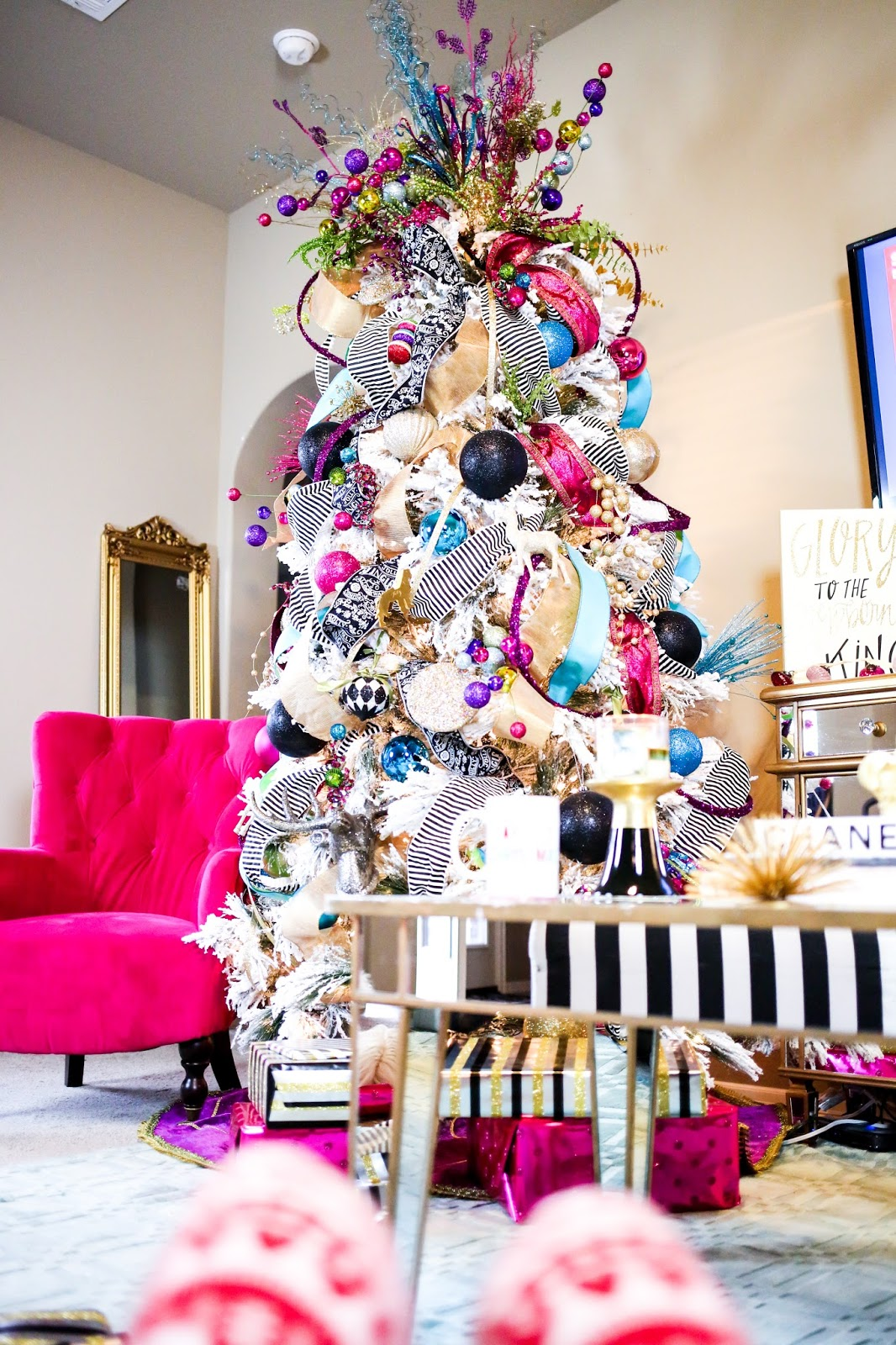 Colorful, Funky Christmas Tree