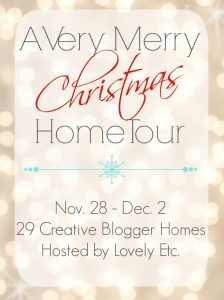 Single Wide Mobile Home Christmas Home Tour Blog Hop