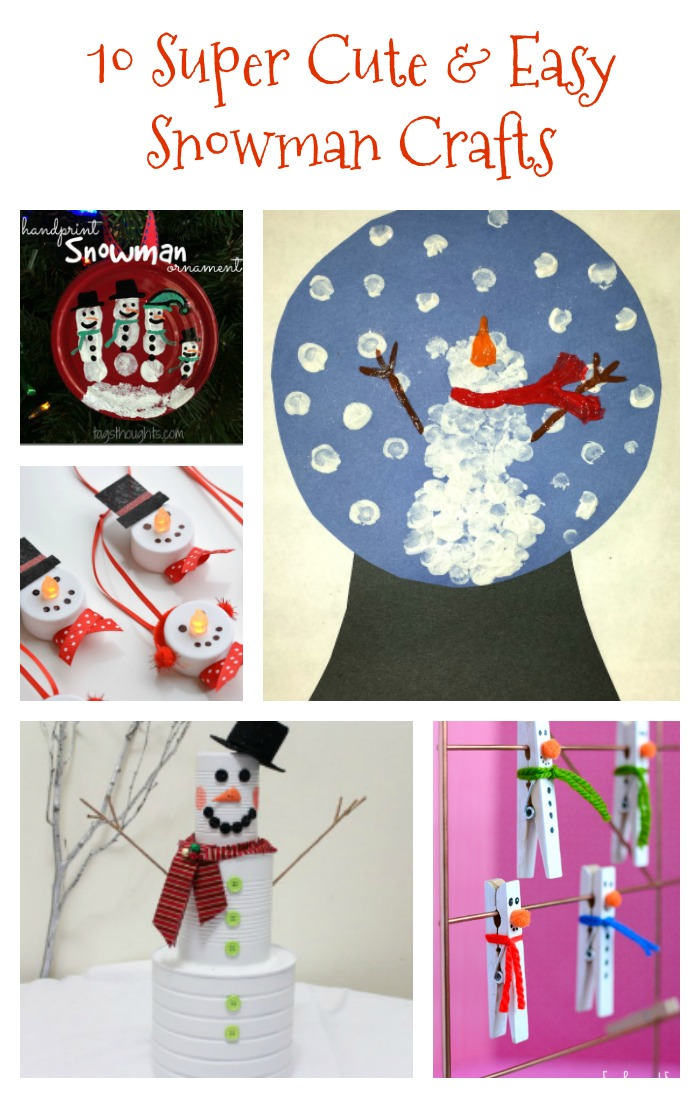 easy preschool winter crafts 10 and easy snowman crafts re fabbed 947