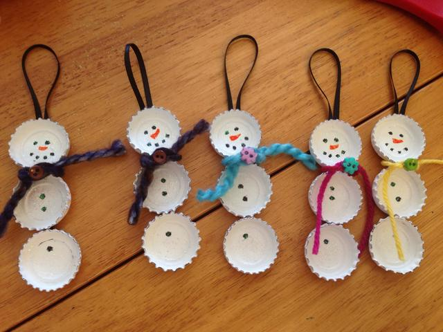 10 Fun And Easy Snowman Crafts Re Fabbed
