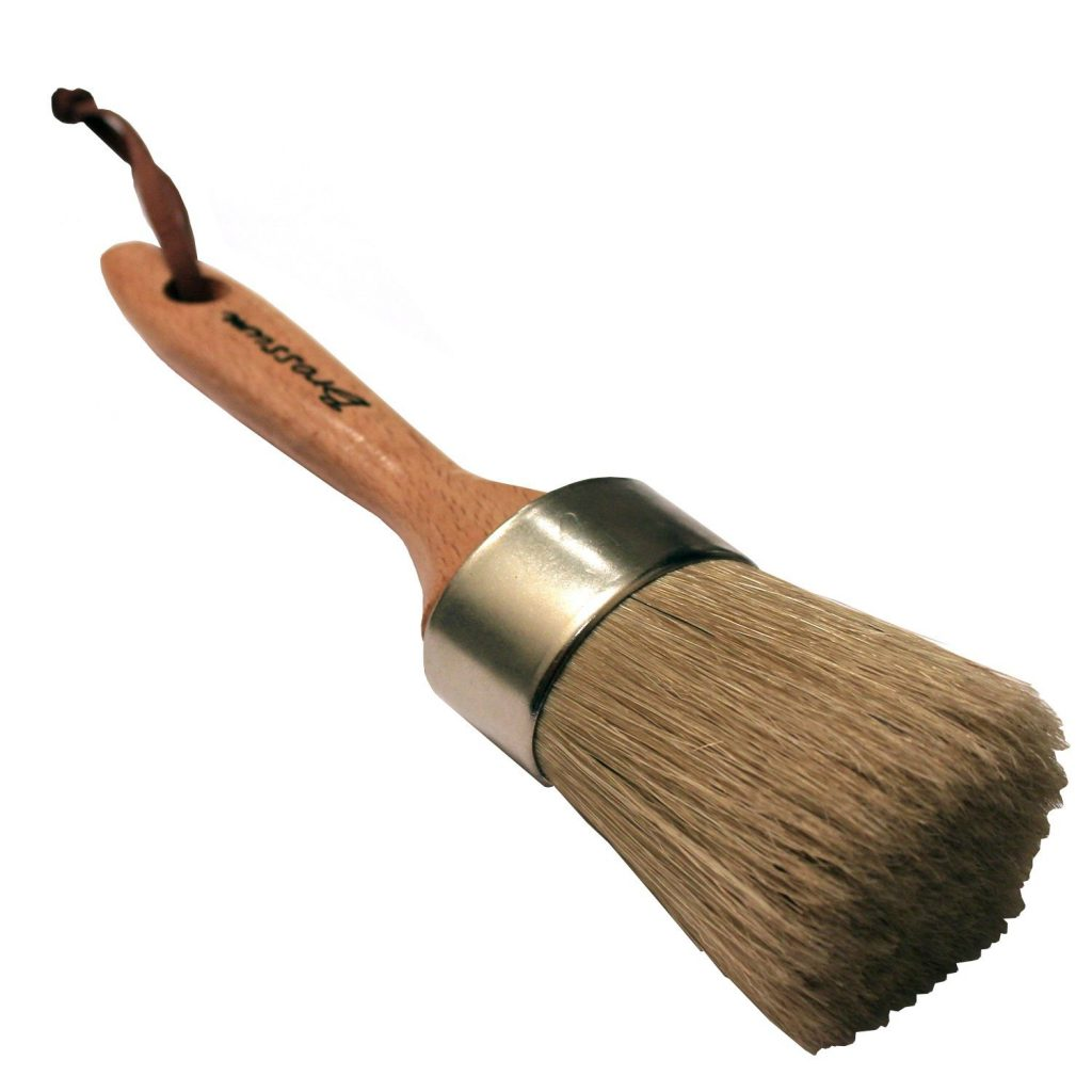 Natural Bristle Chalk Paint Brush