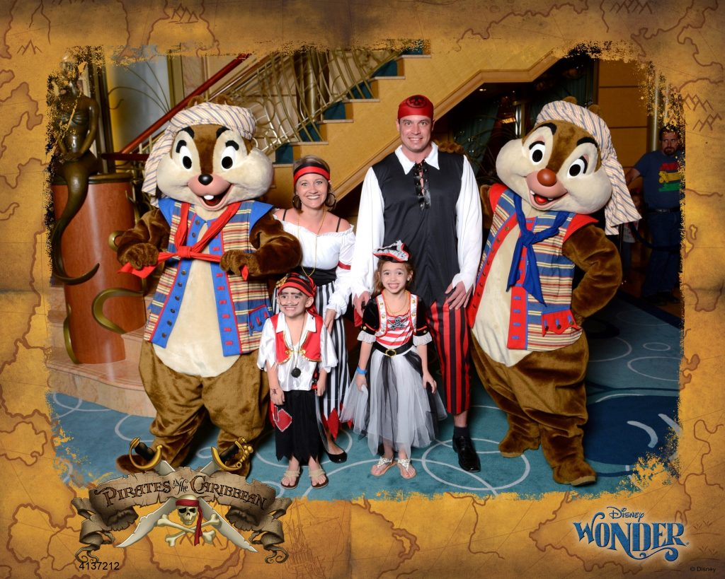 Disney Cruise Pirate Night