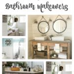 Farmhouse Inspired Bathrooms