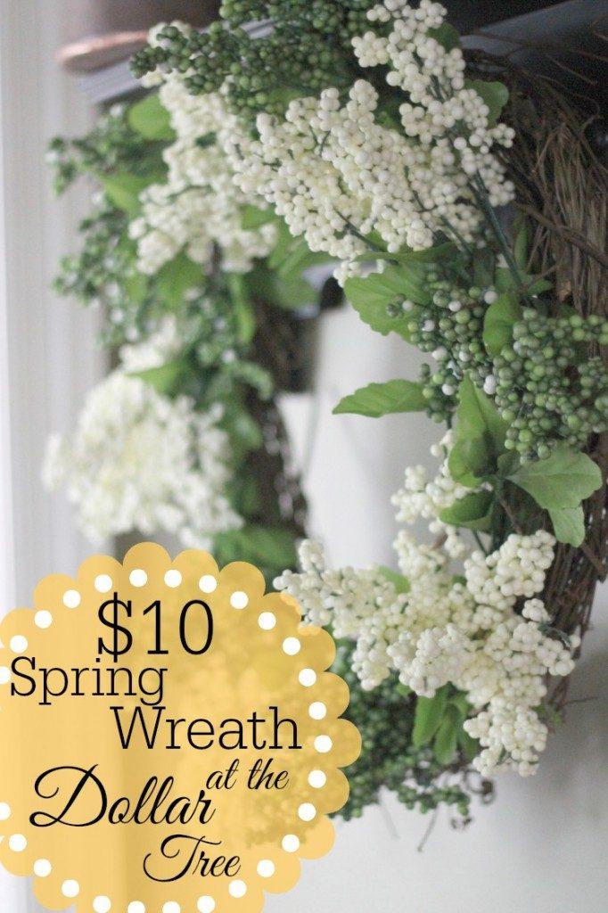 Dollar Tree Wreath Tutorial