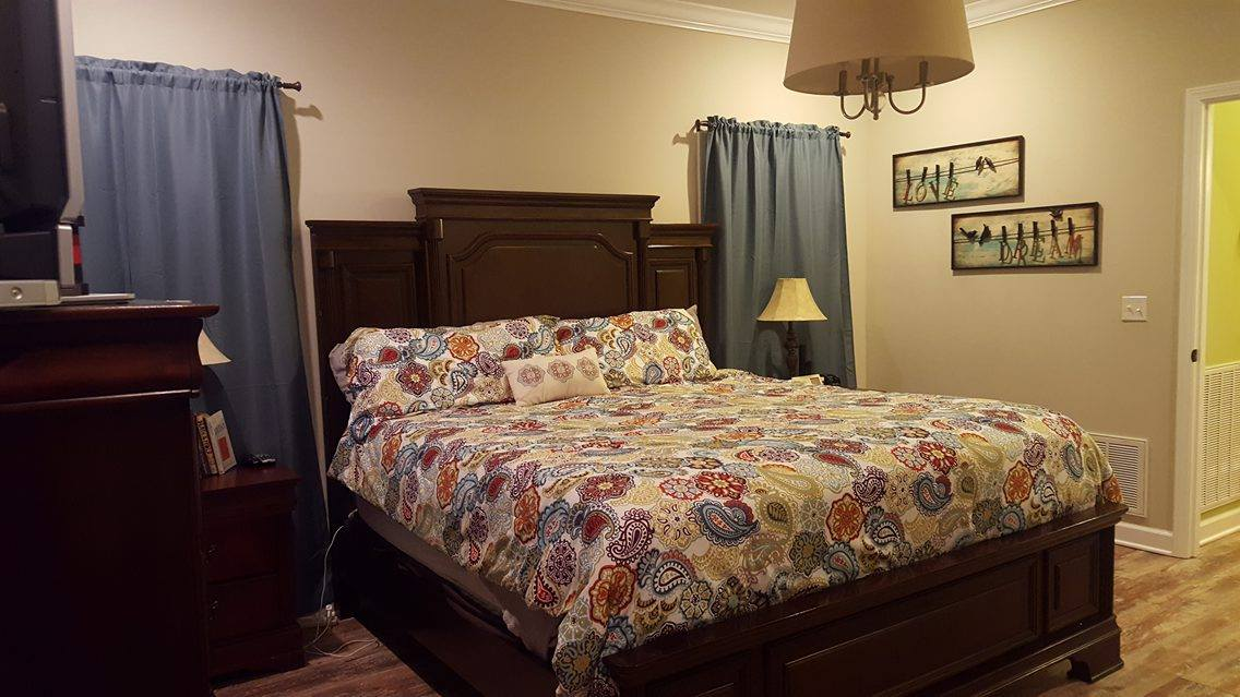Aqua Coral Master Bedroom Makeover Re Fabbed