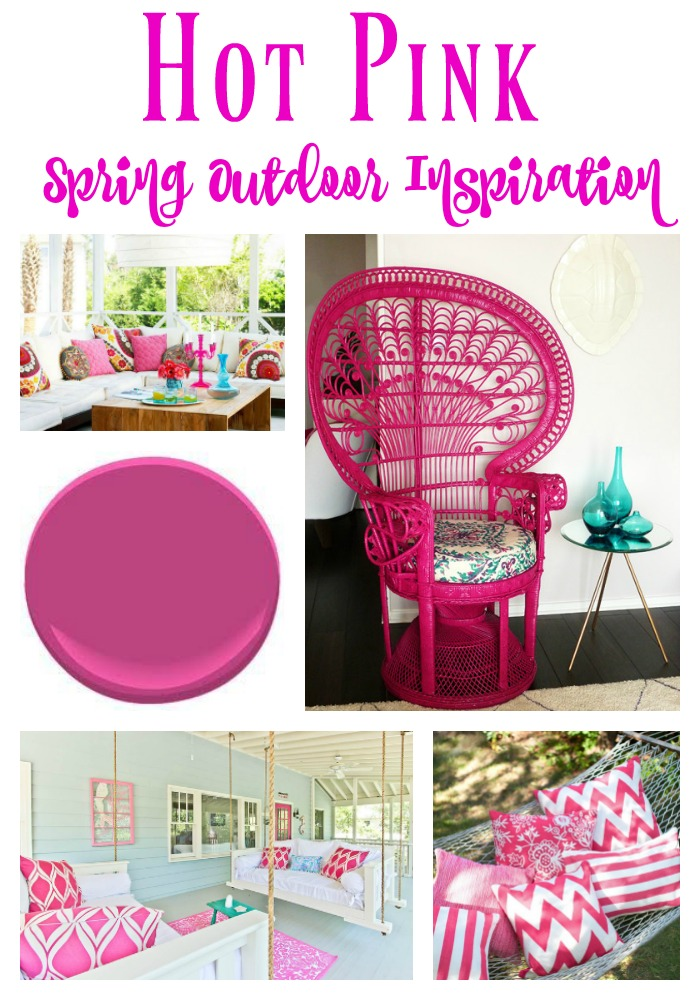 Hot Pink Outdoor Spring Inspiration
