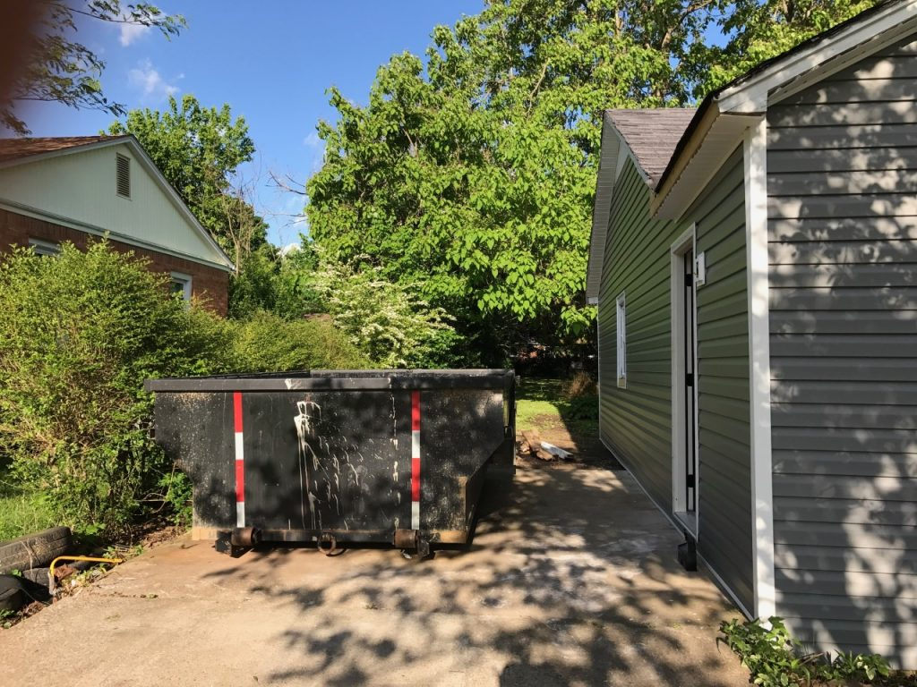 Cottage Charmer fixer upper is making big time progress, and it is getting close to the FUN stuff! The carport is gone, and we have some fun plans for what to do here!