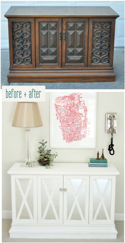 $10 Cabinet Makeover- Centsational Girl