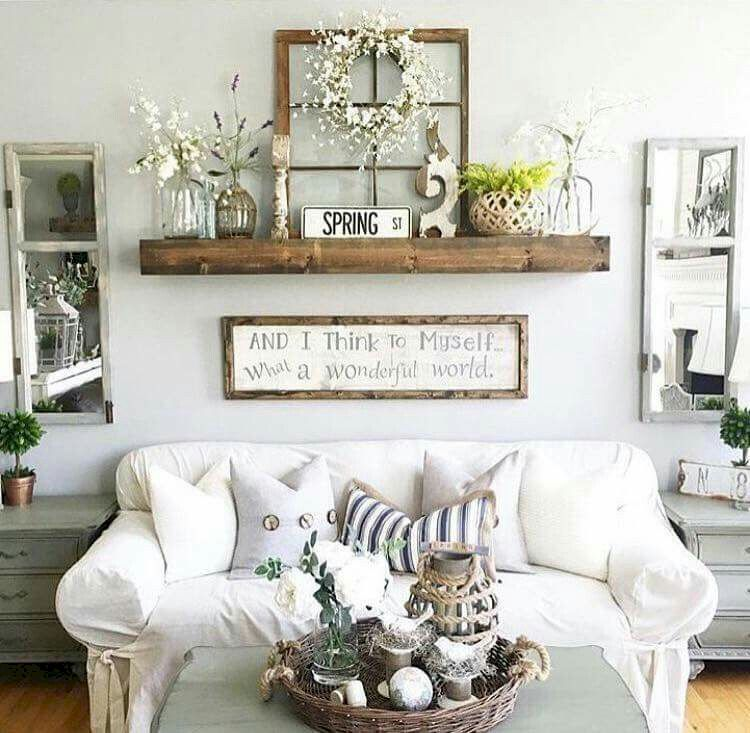 calling all lovers of farmhouse goodness prepare to be inspired by rooms full - Rustic Chic Living Room
