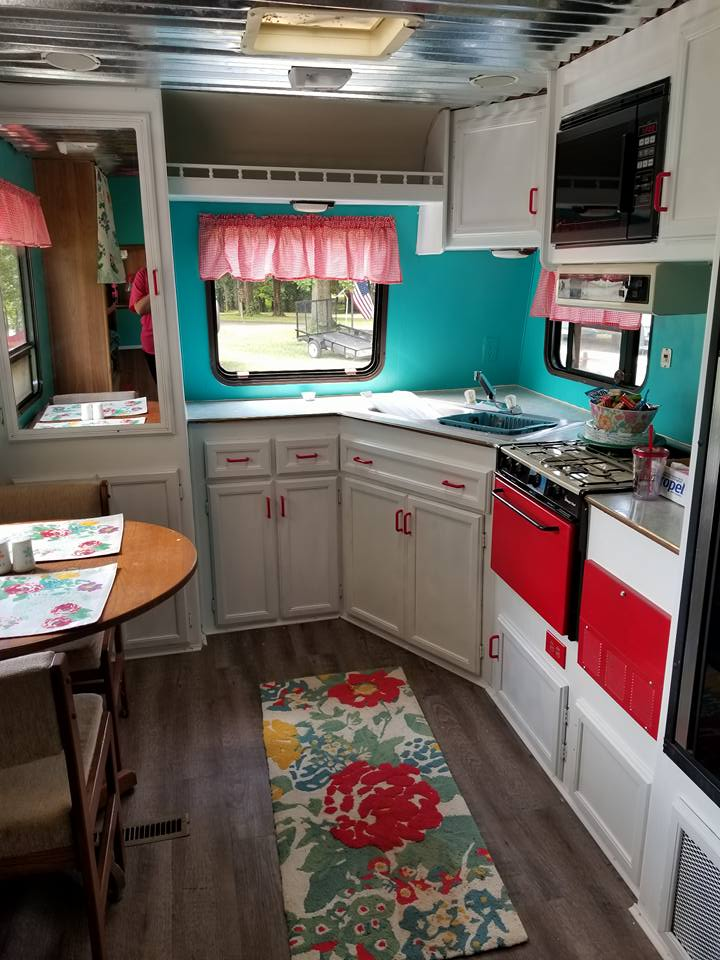 Free Funky Camper Makeover Re Fabbed