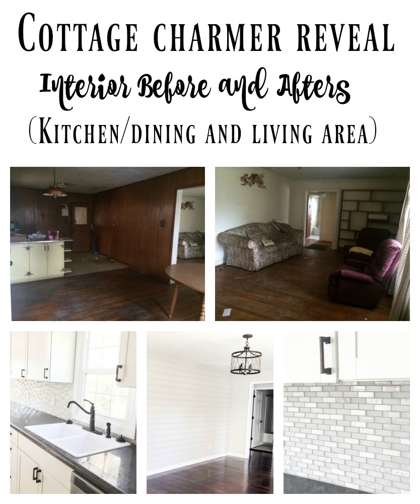 This cottage charmer home got the biggest renovation you would ever believe! A TRUE fixer upper in all forms!