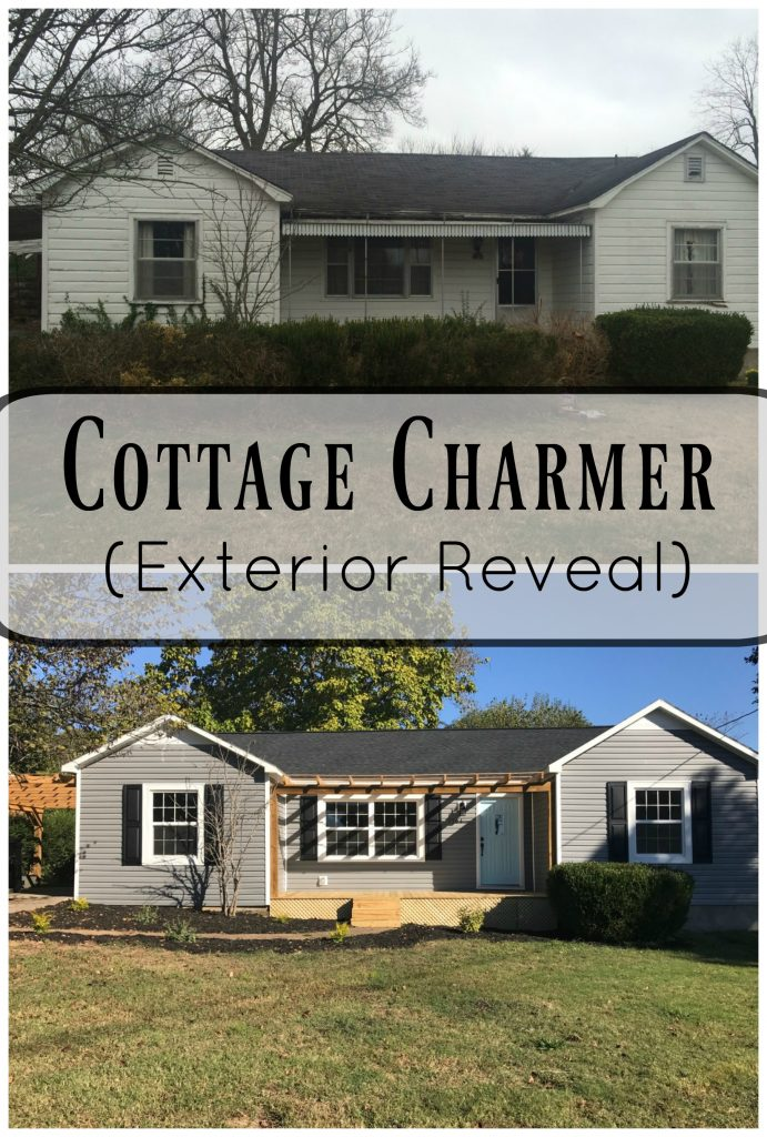 TThis major fixer upper got extensive renovations and it has turned out to be the star of the show! You have GOT to check this out exterior before and after!