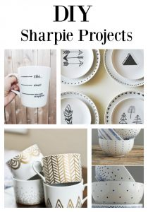 An amazing post full of sharpie DIY projects that are fun and easy to do!