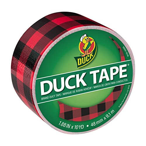 Buffalo Check duck tape
