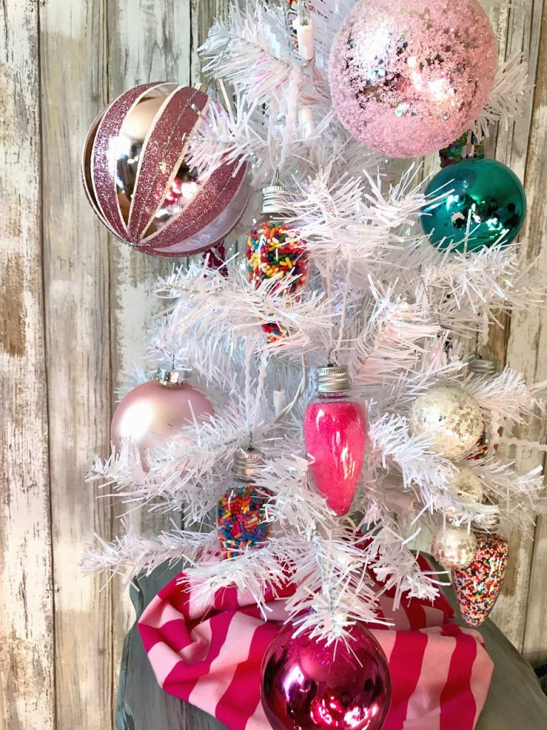 DIY Candle Sprinkle Ornaments!