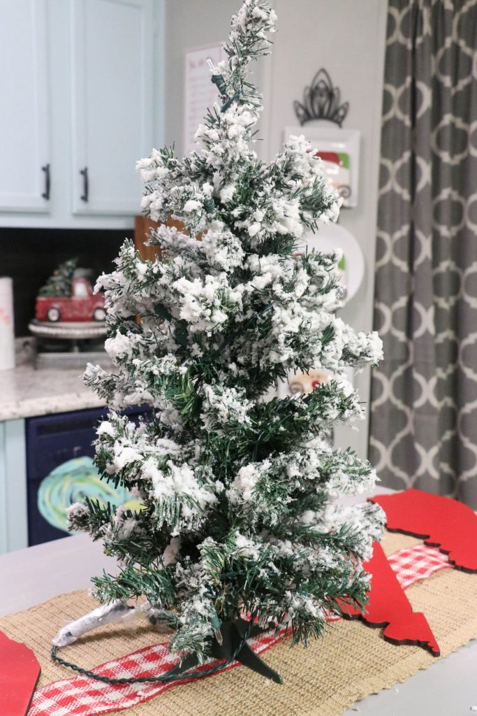 Fun and Festive Kitchen Christmas tree!