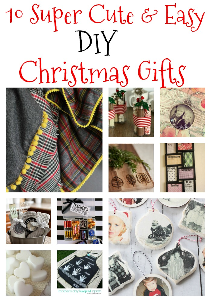 10 Super Easy DIY Christmas Gifts