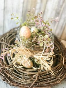 SUPER cute and easy 5 minute Easter decor for your home!