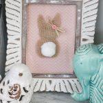 DIY Burlap Bunny