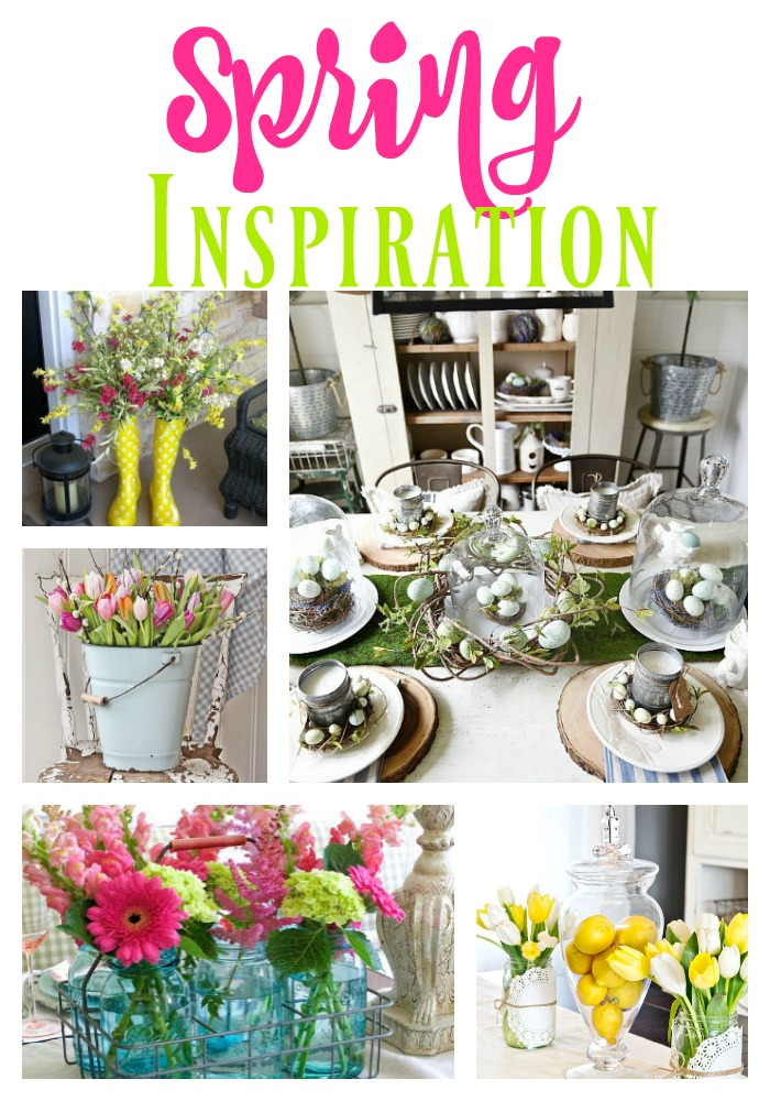 Gorgeous Spring Inspiration to get your creative decorating juices flowing!