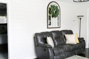 """The most amazing transformation of a home that I have seen. It is truly unreal the difference. And what a gorgeous neutral """"Behr Mineral"""" wall color provided by Behr Paint! AMAZING!"""