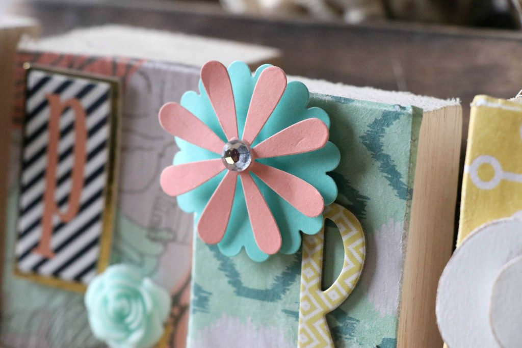 Fun and Easy DIY Spring Letter Blocks!