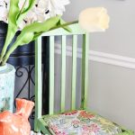 Easy DIY Upholstery on the Kitchen Chairs