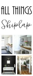 Shiplap inspiration for every room of your home!