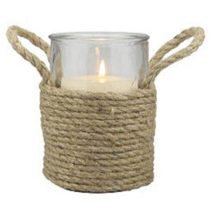 diy dollar tree rope vase/rope vase/diy nautical vase
