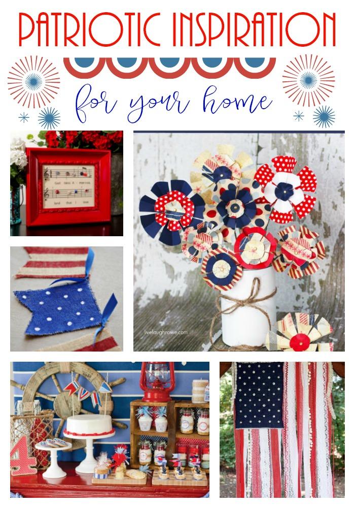 Best Patriotic Inspiration & Decorating Ideas on Pinterest!