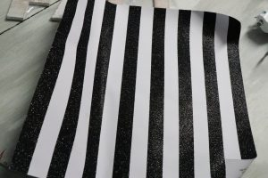 black and white glitter scrapbook paper