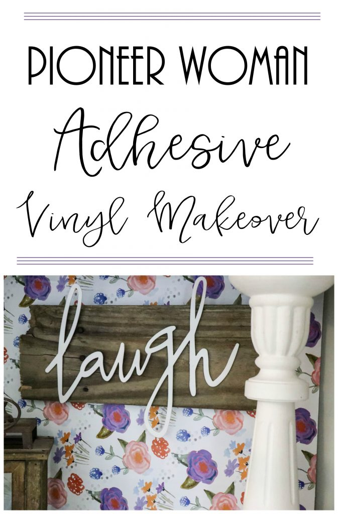 Adhesive Vinyl makeover