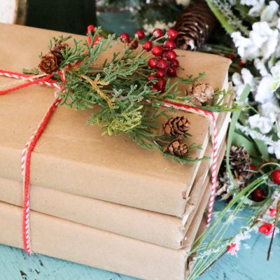 DIY Paper Covered Books