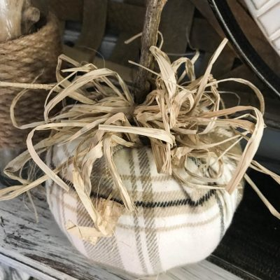 DIY Scarf Pumpkin