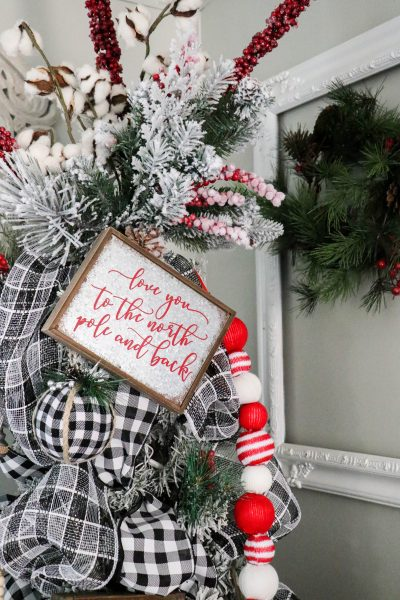 Buffalo Plaid Christmas Tree
