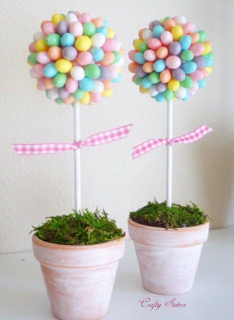 DIY Jellybean Topiary