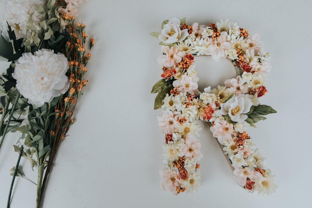 Make a beautiful DIY embroidered monogram!