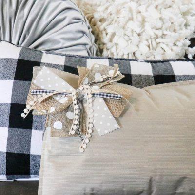 DIY Placemat Pillow