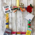 Back to School Door Hanger