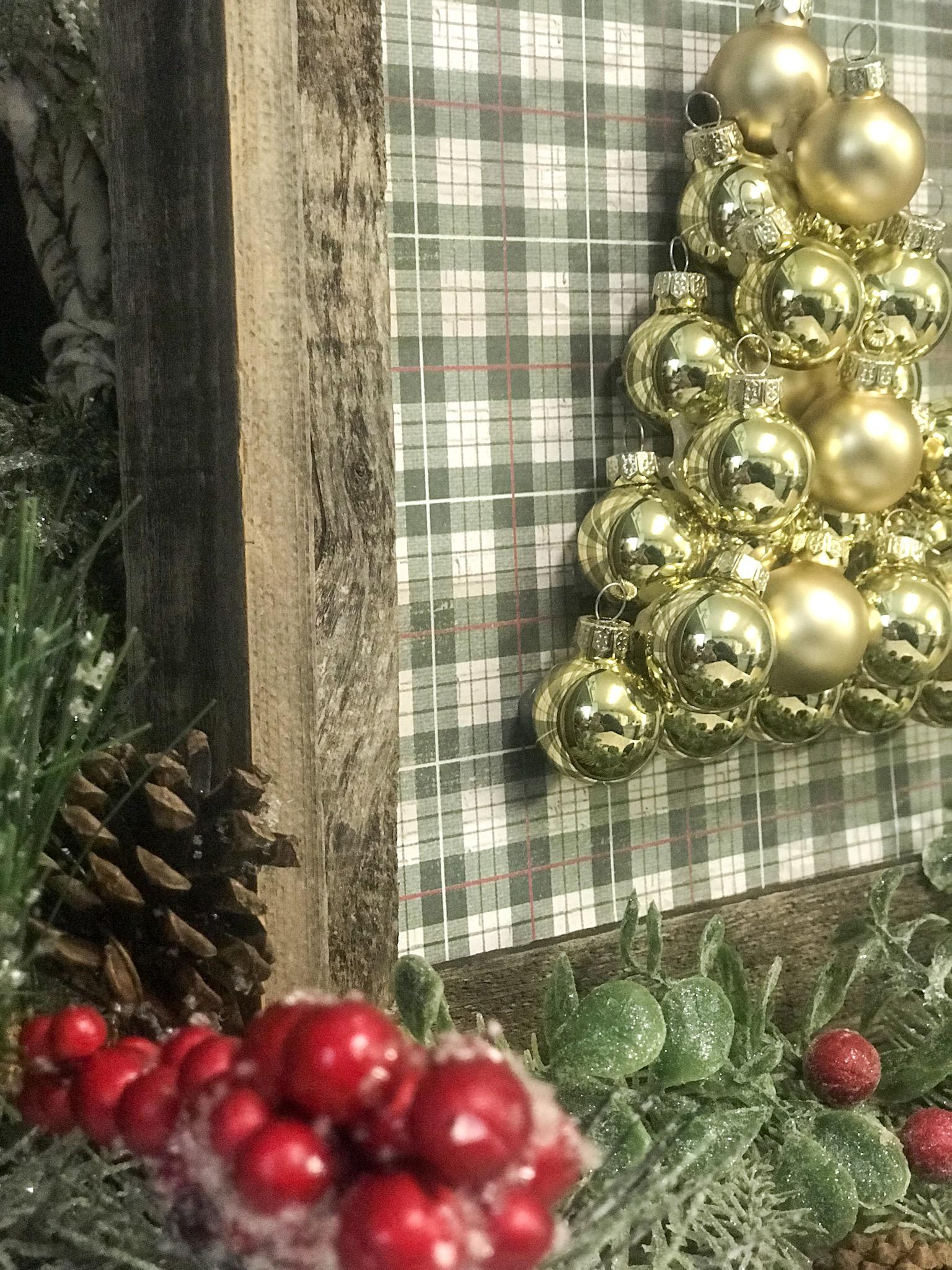 Diy Mini Ornament Christmas Tree Re Fabbed