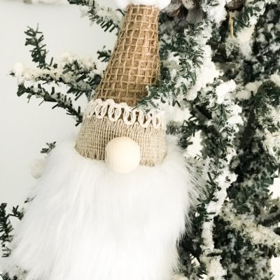 how to make mini gnome ornaments