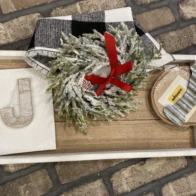 How to make a simple Joy Christmas Sign