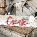 DIY Create Wood Sign