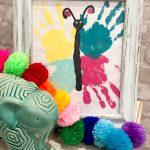 DIY Handprint Butterfly Kid Craft