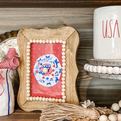diy Patriotic Wood Frame