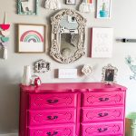 Little Girl's Bedroom Furniture Makeover