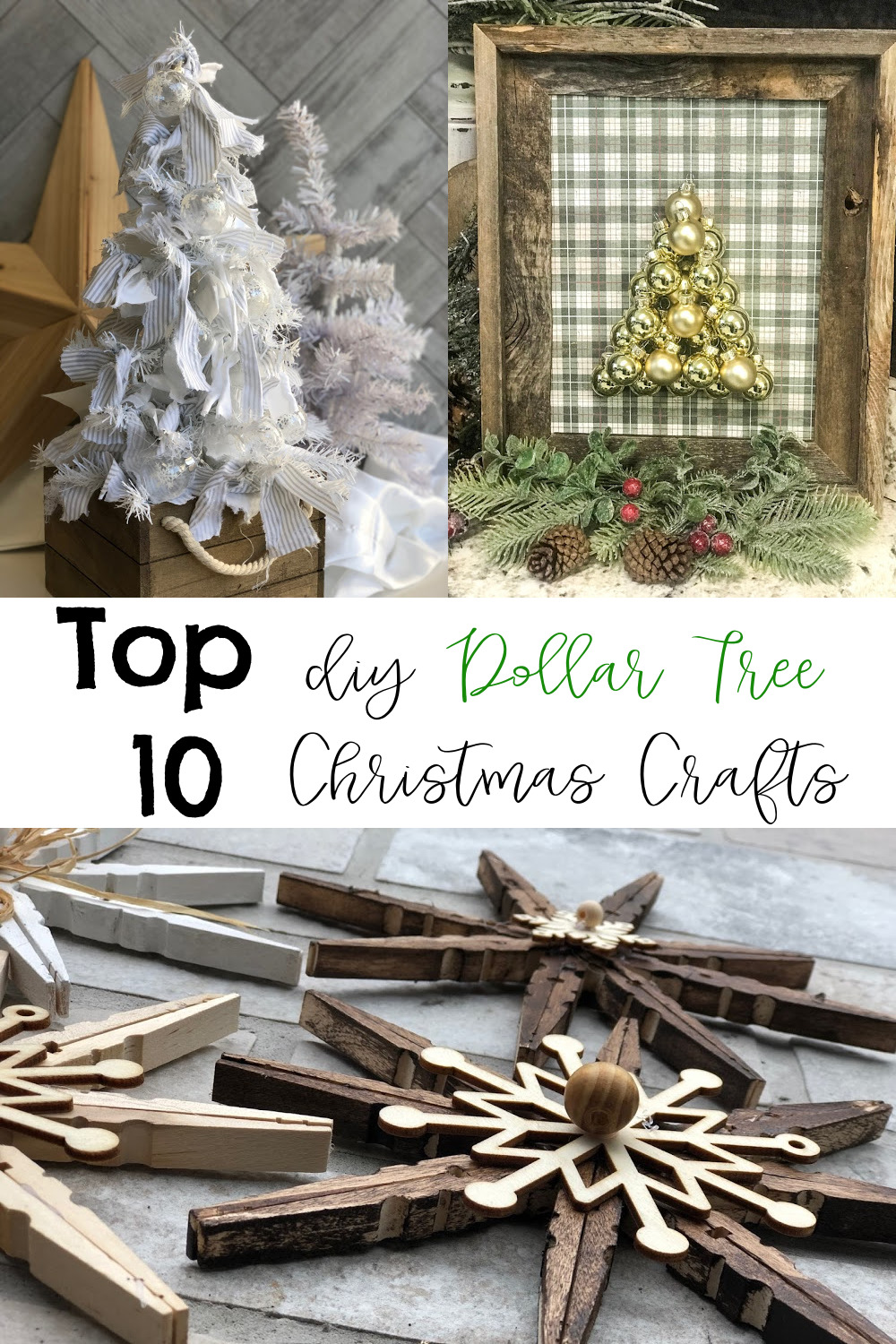 Top 10 Diy Christmas Dollar Tree Crafts Re Fabbed